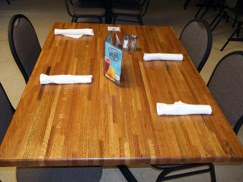 Image of: Inspiring Butcher Block Table Tops