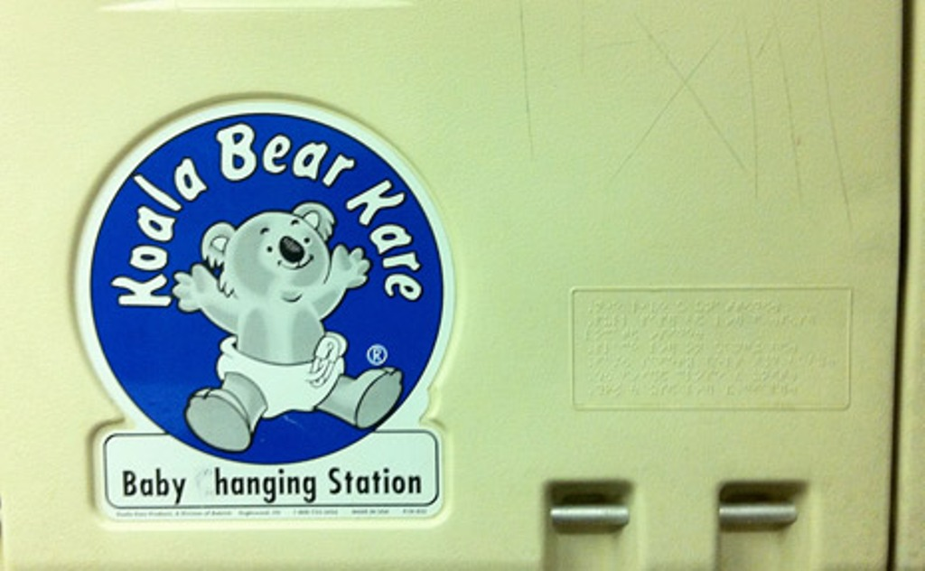 Image of: Koala Changing Table Liners