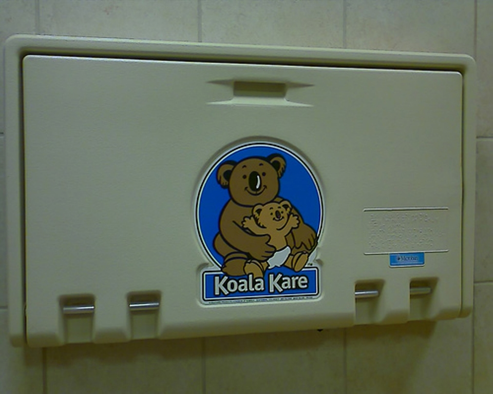 Picture of: Koala Changing Table Sam's Club