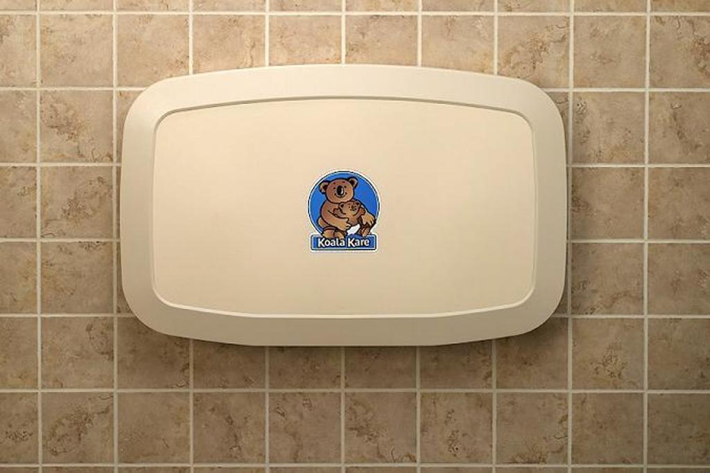 Image of: Koala Changing Table Stickers