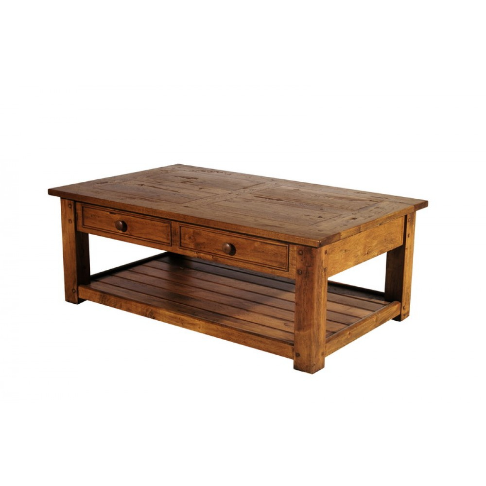 Image of: Large Square Coffee Table Wood
