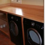 Laundry Folding Table Over Washer Dryer