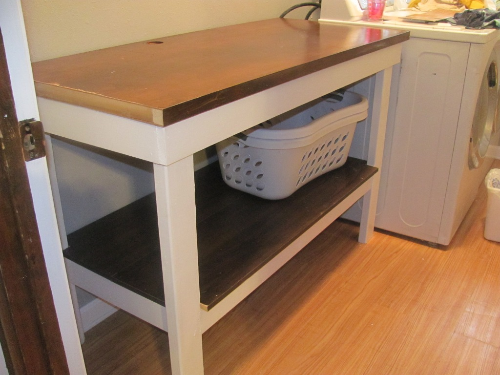 Image of: Laundry Folding Table