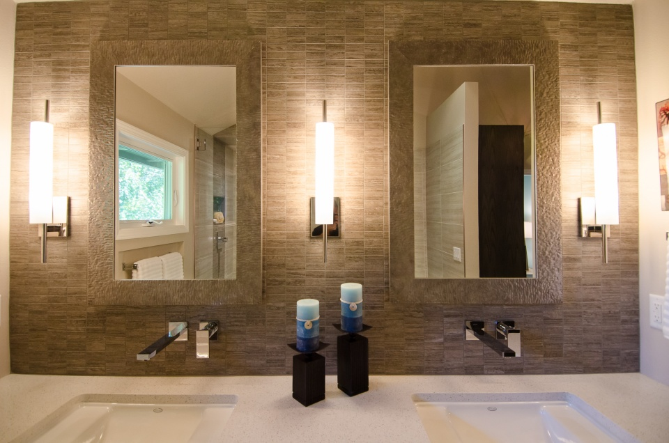 Image of: Led Vanity Lights Install