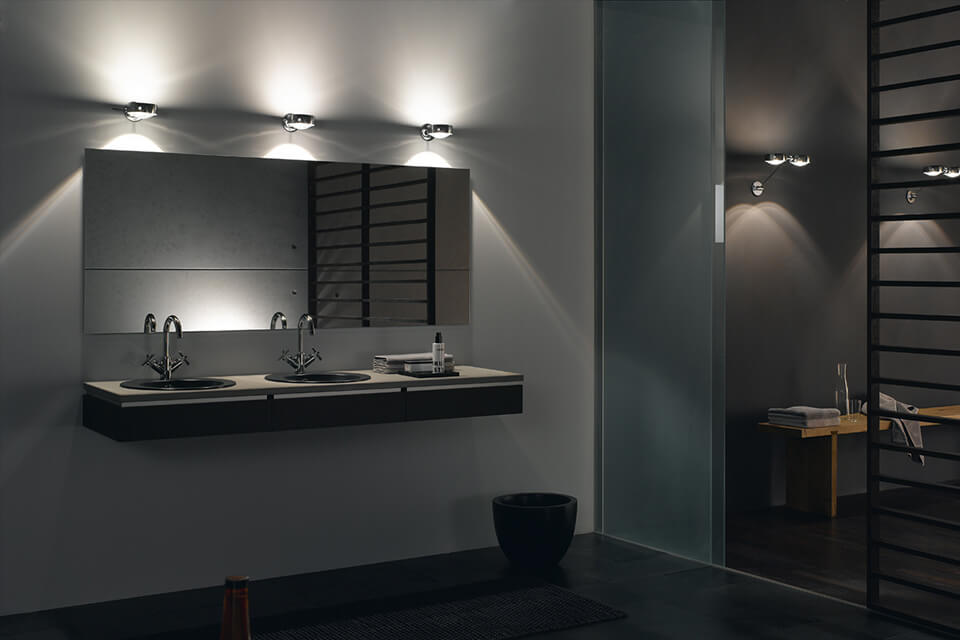 Image of: Led Vanity Lights Wall