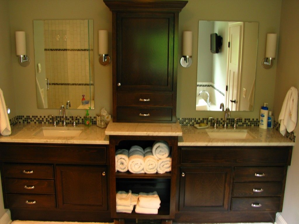 Image of: Linen 72 Bathroom Vanity Double Sink