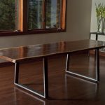 Live Edge Dining Table Height