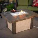 Luxury Firepit Patio Table
