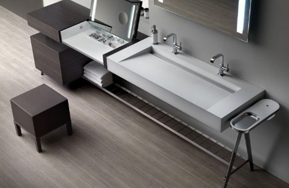 Image of: Makeup Contemporary Vanity Tables