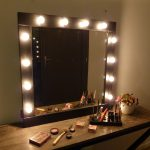 Makeup Vanity Table With Lighted Mirror Color