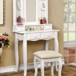 Makeup Vanity Table With Lighted Mirror Small