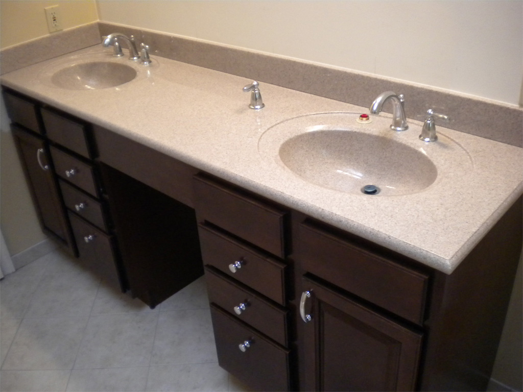 Image of: Marvelous 72 Bathroom Vanity Double Sink