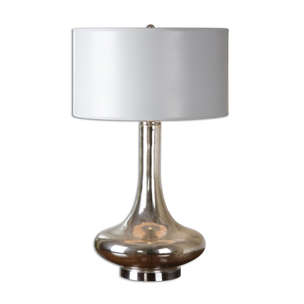 Picture of: Mercury Glass Table Lamp Moderns