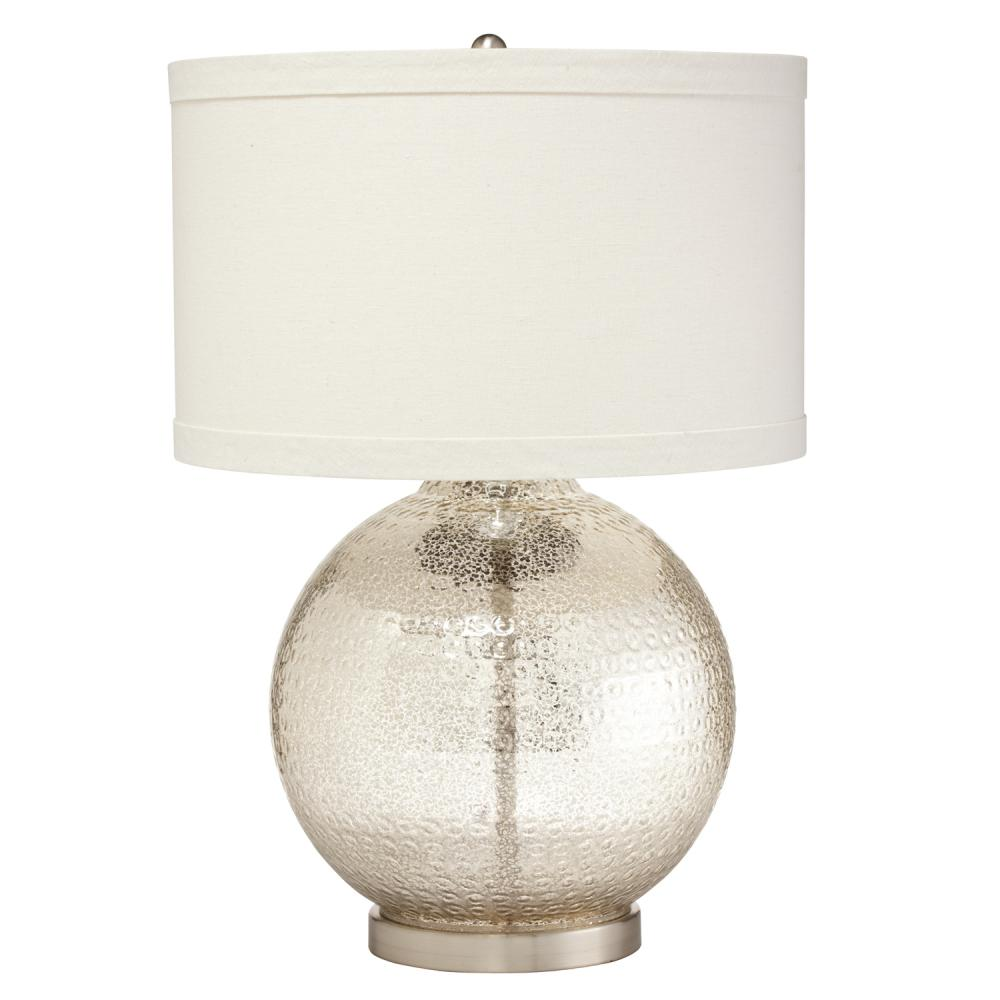 Image of: Mercury Glass Table Lamp Style