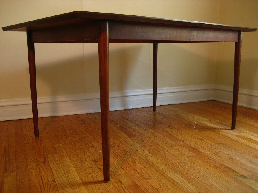 Picture of: Mid Century Dining Table Legs