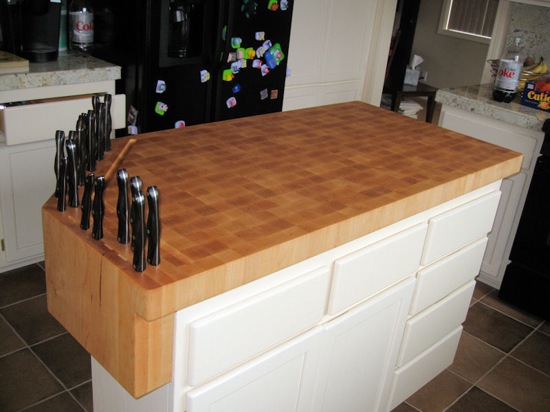 Picture of: Modern Butcher Block Table Tops