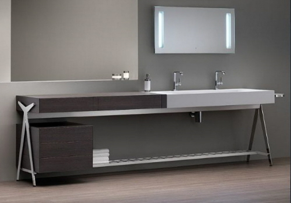 Image of: Modern Makeup Contemporary Vanity Table