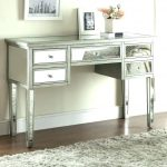 Modern Makeup Vanity Table With Lighted Mirror