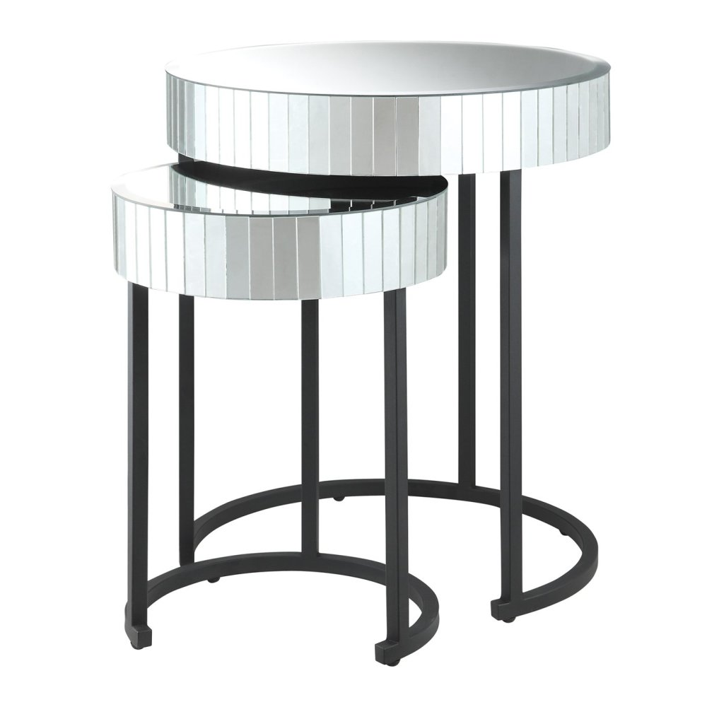 Picture of: Modern Round Nesting Tables