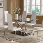 Modern Glass Dining Room Table Sets