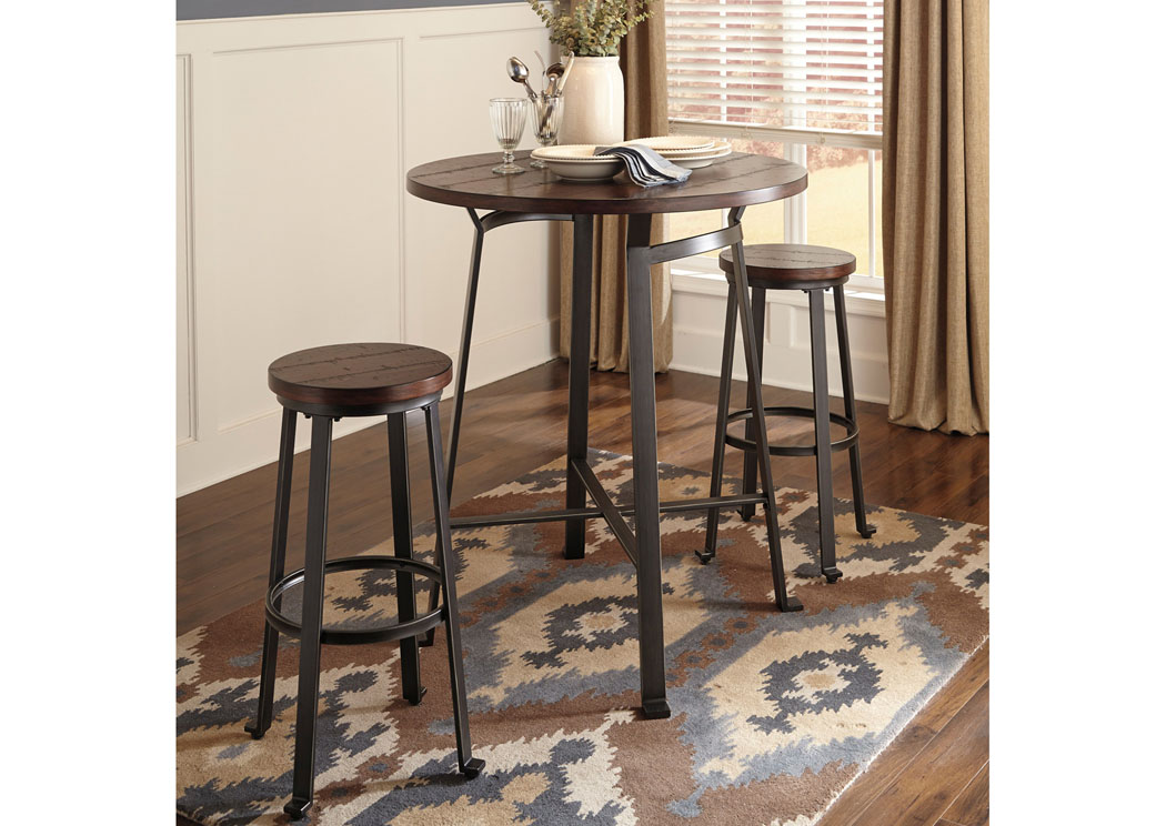 Picture of: Moderns Round Dining Table with Leaves