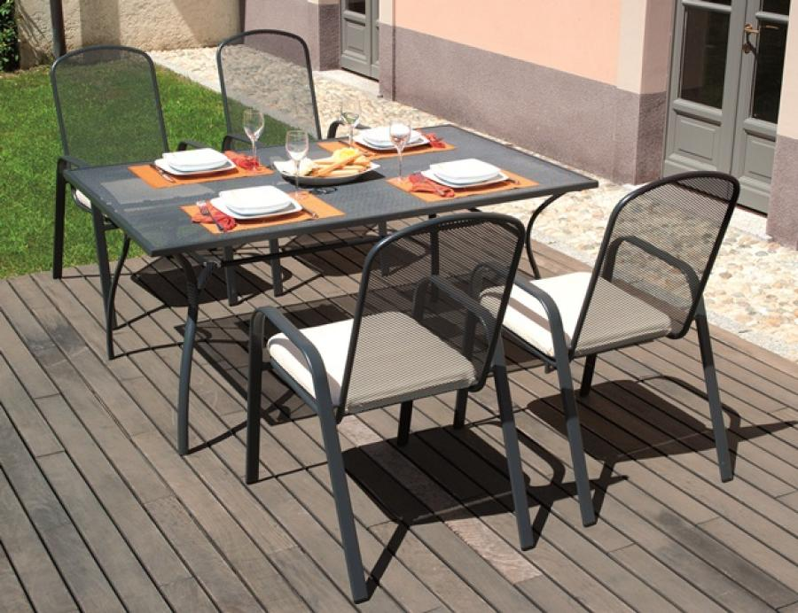 Image of: New Rectangular Patio Table