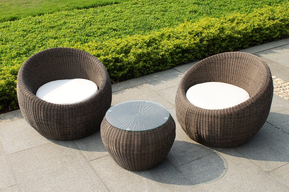 Image of: Outdoor Rattan Coffee Table