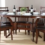 Oval Dining Table With Leaf And Chairs