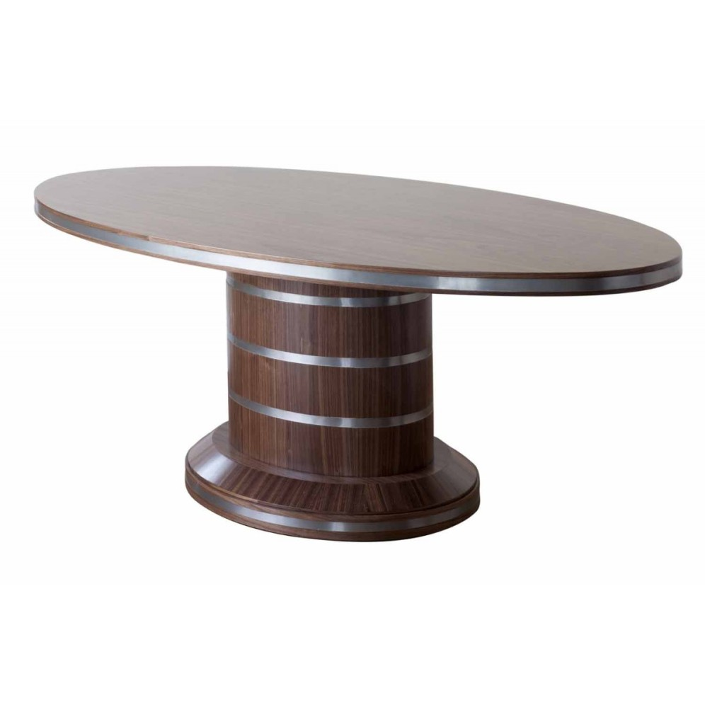 Picture of: Oval Pedestal Dining Table Ideas