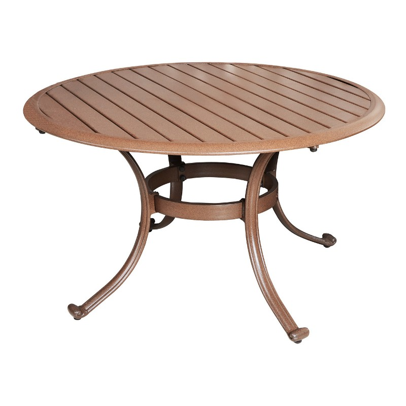 Patio Coffee Table Mahogany Stained