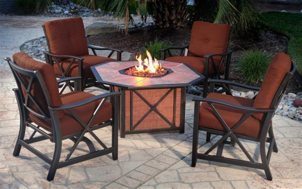 Perfect Firepit Patio Table