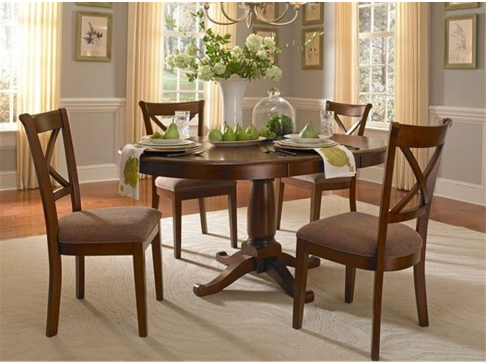 Picture of: Perfect Oval Pedestal Dining Table
