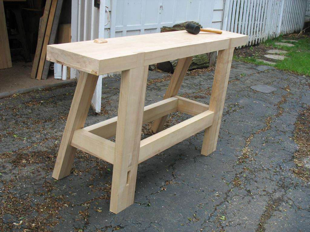 Image of: Portable Woodworking Bench Ideas