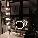 Professional Makeup Vanity Table With Lighted Mirror