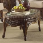 Rattan Coffee Table Oval