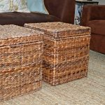 Rattan Coffee Table Shelves