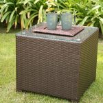 Rattan Coffee Table Square Shapes