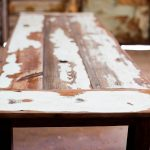 Reclaimed Wood Farm Table Color