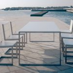 Rectangular Patio Table Set