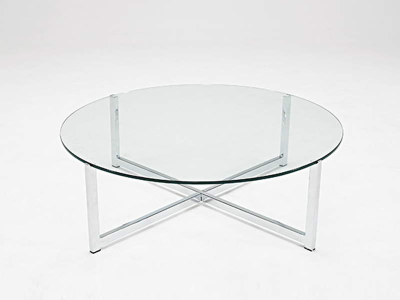 Picture of: Round Glass Coffee Table Design Ideas