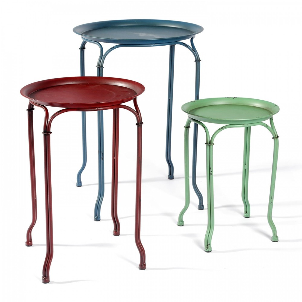 Image of: Round Nesting Tables Design