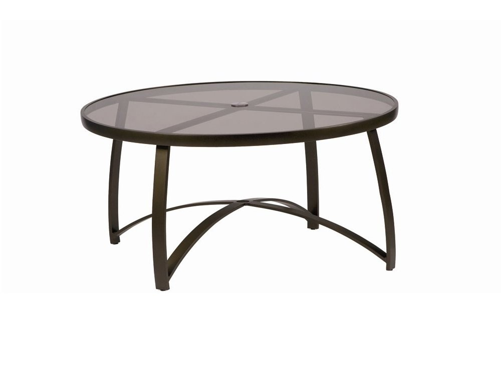 Picture of: Round Patio Coffee Table
