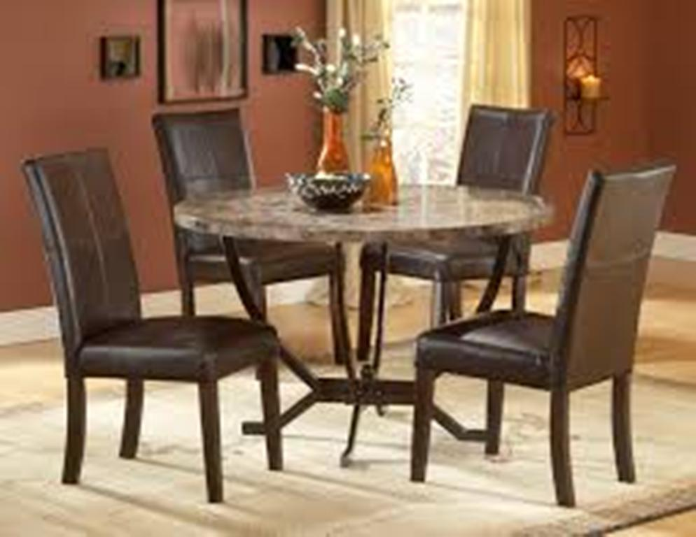 Image of: Round Table Dining Room Sets Antique