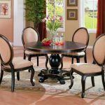 Round Table Dining Room Sets Beige