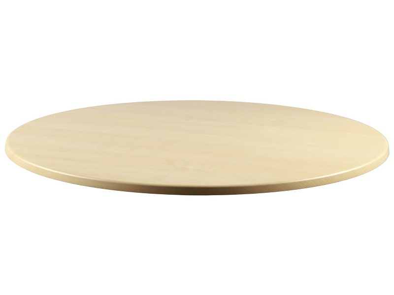 Image of: Round Wood Table Tops Style