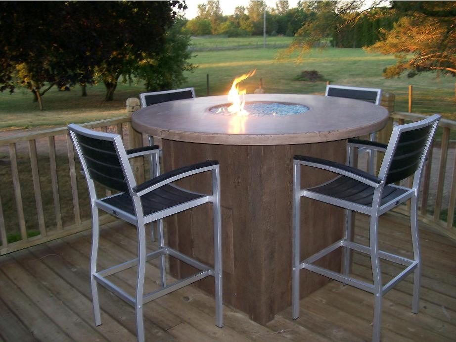 Image of: Round folding table home depot