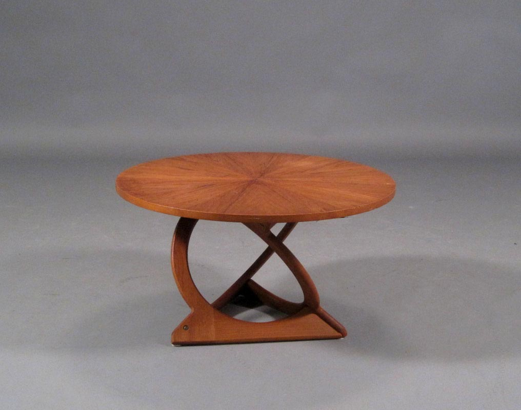 Image of: small teak coffee table style