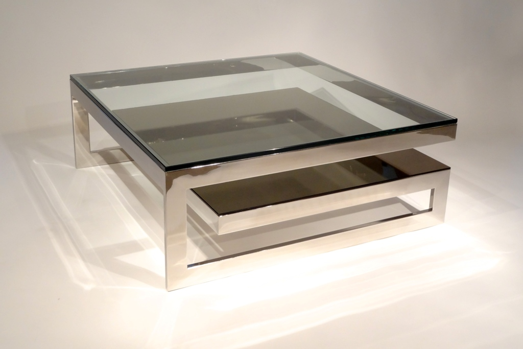 Picture of: stainless steel coffee table frame