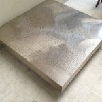 Stainless Steel Coffee Table Trunk