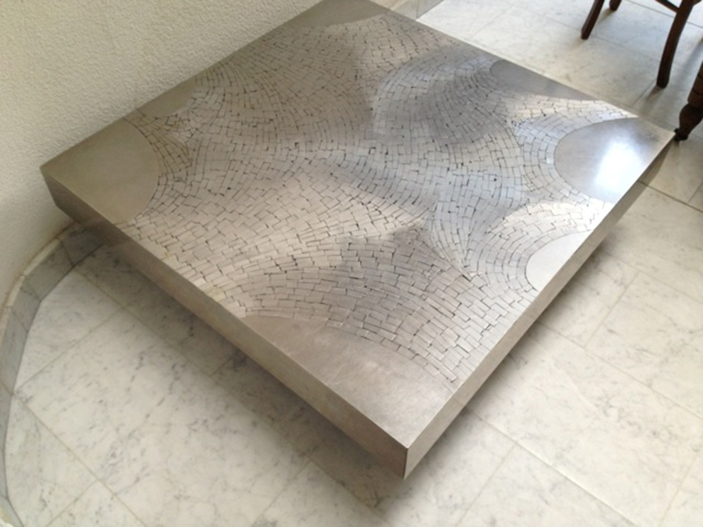 Picture of: stainless steel coffee table trunk